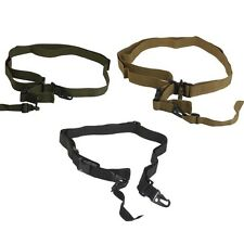 Tactical Military Hunting 3 Point Rifle Sling Gun Strap Survival Rescue Gear NEW