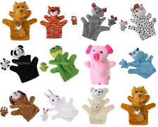 Cute Animal Shape Hand Puppet Finger Puppet Kids Learning Pre-school Toy Gifts