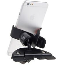 All Mobile Smart Cell Phone GPS 360 Car Auto CD Slot Mount Cradle Holder Stand