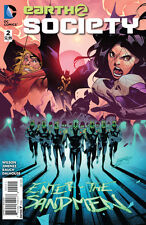 EARTH 2: SOCIETY (2015) #2 VF/NM