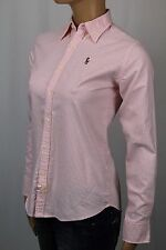 Ralph Lauren Pink Classic Fit Oxford Striped Blouse Shirt Multi Colored Pony NWT