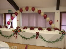 Large Buffet Table Balloon Helium Arch Display Kit DIY For Parties And Wedding