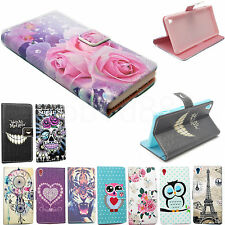 Flip Wallet Leather Phone Skin Case Cover For Samsung Galaxy Note 4 A3 A5 S6 S5