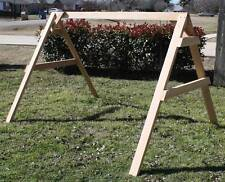 NEW ALL CEDAR SHORT A-FRAME FOR PORCH SWING STAND SUPPORT A FRAME