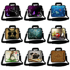 """Shoulder Carry Bag Pouch Sleeve Case For 10"""" 13"""" 15"""" 17"""" PC Laptop with Handle"""