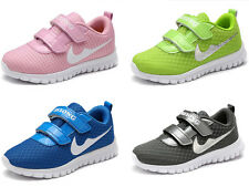 Kids Child Boys Girls Breathable Fashion Sneakers Running Casual Sport Shoes