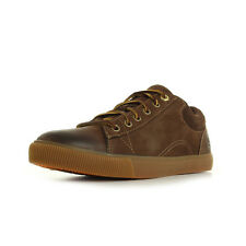 Chaussures Ville basses Timberland homme Glastenbury Leather taille Marron Cuir