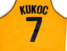 TONI KUKOC JUGOPLASTIKA JERSEY CROATIA YELLOW  SEWN NEW      ANY SIZE XS - 5XL