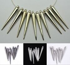 New Style Acrylic Spike Charms For Basketball Wives Earrings 20/50/100pcs
