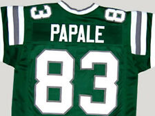 CUSTOM NAME & NUMBER  VINCE PAPALE INVINCIBLE MOVIE GREEN JERSEY NEW XS - 5XL