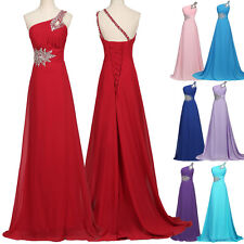 CHEAP Long Prom Dress Party Ball Gown Homecoming Grads Evening Bridesmaid Attire