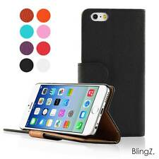iPhone 6 (4.7 inches) Flip Wallet Leather Case Card Slot Pouch Cover