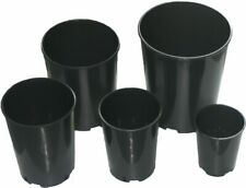 Deep Rose Pots 1,2,3,4,7 Litre Quality Plastic Plant Pot