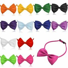 3X Men Women Kids Adjustable Tuxedo Prom Bowknot Bow Tie Collar Party Wedding