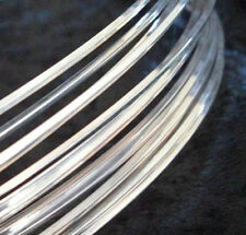 1Ft Sterling Silver-Filled ROUND Dead Soft Jewelry Wire 20 21 22 24 26 Gauge GA