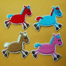 1 Horse Pony Iron Sew on Patch Cute Applique Badge Embroidered Biker Animal Cute