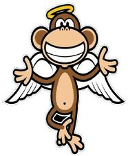 """6-10"""" BOBBY JACK MONKEY ANGEL  WALL SAFE STICKER CHARACTER BORDER CUT OUT"""
