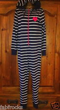LADIES NEW MONSOON ONESIE PJS  SMALL size 8 - 10  PINK LOVE HEART RRP  £34 !!