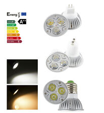 Dimmable Power Energy LED 9W GU10 E27 MR16 White LED Lamp Bulb Light DL