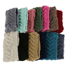 Flower Crochet Knit Knitted Headwrap Headband Ear Warmer HairBand Winter Fashion