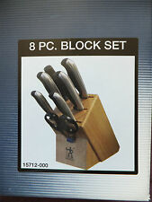 NEW J.A. HENCKELS 8 PIECE FINE EDGE SYNERGY CUTLERY BLOCK SET