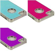 Aluminium Brushed Metal Color Hard Ultra Thin Case Cover For iPhone 5 5G 5th