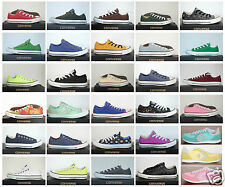 New All Star Converse Chucks Low Ox Canvas Ladies Men's Sneakers many models