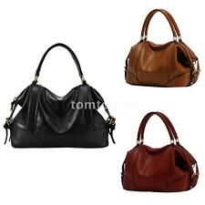 Women Ladies Handbag European Style PU Leather Large Capacity Messenger Bag Tote
