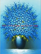 Handmade Floral Oil Painting on canvas Textured painting Wall art decor/No Frame