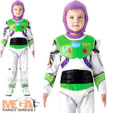 Deluxe Buzz Lightyear Boys Disney Fancy Dress Childs Toy Story Kids Costume 3-8