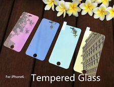 """Colored Tempered Glass Reflective Mirror Screen Protector Film For iPhone 6 4.7"""""""