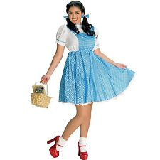 Womens Plus Size Dorothy Costume The Wizard of OZ Book Week Dress Party Outfit