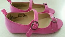 NEW Old Navy Toddler Girls SIZE 8 / 9 Open Toe Flats / Shoes PURPLISH PINK 35815