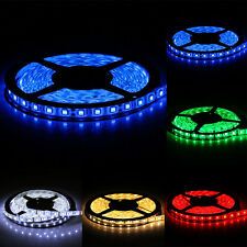 5m 500cm 5050 SMD 300 LEDs Waterproof Flexible LED Light Strip Lamp 12V DC
