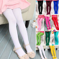 New Baby Girls Sweety Velvet Stockings Ballet Dance Tights Opaque Pantyhose RD