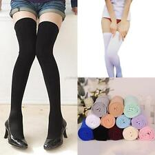 Womens Fashion Sexy Thigh High Over the Knee Socks Stockings Multi-Colors