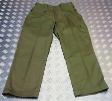 Genuine British Army Lightweight Combat/Fatigue Trousers L/W Olive or Black NEW