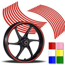 15 to 19 inch Motorcycle Scooter Car & Truck Rim Stripes Wheel Sticker Decal