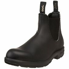 Blundstone Black 510 PU/TPU Elastic Sided V-Cut Weather Proof Work Boots