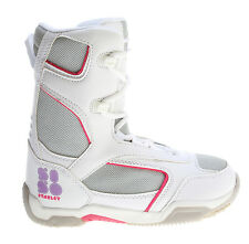 5150 Starlet Snowboard Boots White Youth