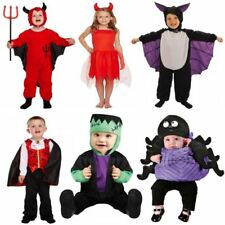 TODDLER INFANT COSTUME CHILDRENS HALLOWEEN PARTY FANCY DRESS BOYS GIRLS OUTFIT