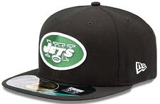 New Era NFL New York Jets On Field Cap 59fifty Basic Fitted Cap Mens