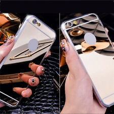 Luxury Ultra-thin Aluminum Mirror Metal Case Cover For iPhone SE 5s 6 6s 7 Plus