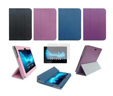 Folio Skin Cover Case and Screen Protector for for Sony Xperia Tablet S SGPT121