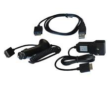Car Wall Home Charger + USB Sync Data Cable for Sony Walkman MP3 Player