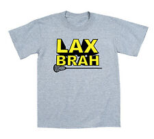 LAX Brah Fun Cool Sports Athletic - Toddler T-Shirt