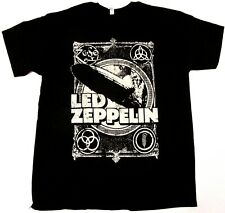 LED ZEPPELIN Vintage Logo T-shirt Plant Page JPJones Bonham Retro Tee All Sizes