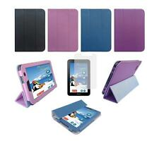 """Folio Skin Cover Case and Screen Protector for Samsung Galaxy Tab 2 7"""" GT-P3113"""