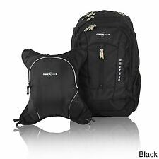 Obersee Bern Diaper Bag Backpack with Detachable Cooler