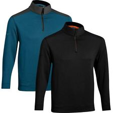 Mizuno 2015 Warmalite Thermosuede 1/4 Zip Cover-up Mens Sweater Golf Pullover